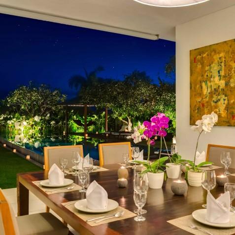 Villa Kavya Bali - Dining Area - Canggu, Bali