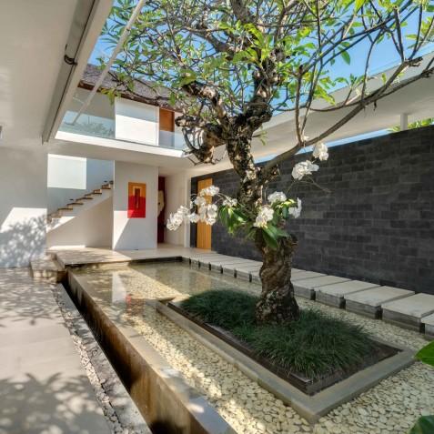 Villa Kavya Bali - Entrance Pond - Canggu, Bali