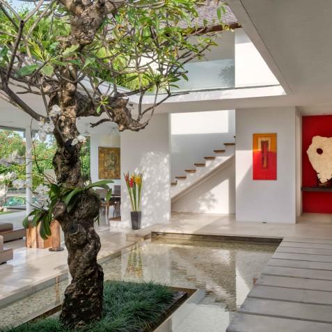 Villa Kavya Bali - Walkway to Bedroom - Canggu, Bali