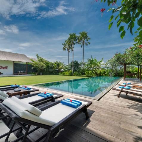 Villa Kavya Bali - Main Pool - Canggu, Bali