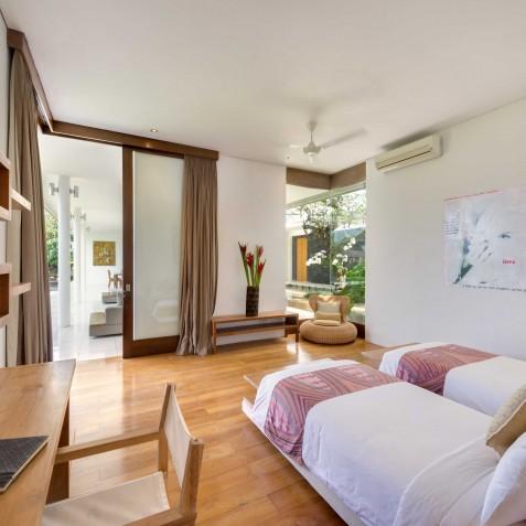 Villa Kavya Bali - Twin Bedroom - Canggu, Bali