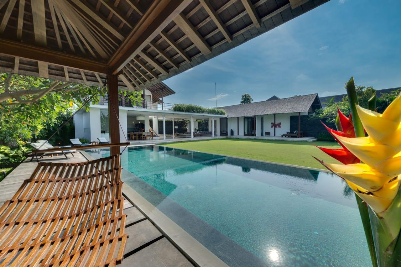 Villa Kavya Bali - View from Hammock - Canggu, Bali