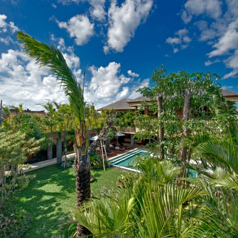 Villa Kinara - Aerial View - Seminyak, Bali