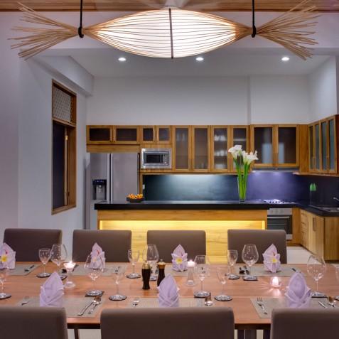 Villa Kinara - Dining Room - Seminyak, Bali