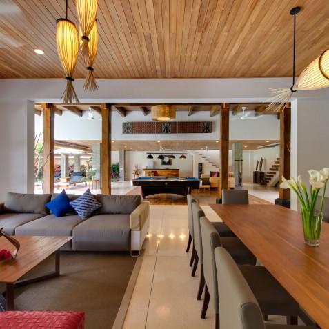 Villa Kinara - Living and Dining Area - Seminyak, Bali