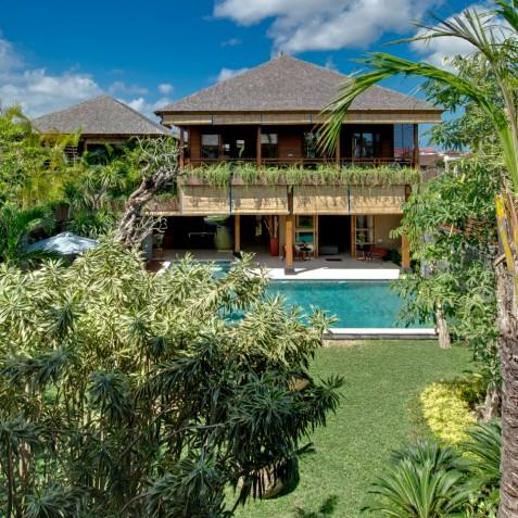 Villa Kinara - Master Bedroom Balcony - Seminyak, Bali