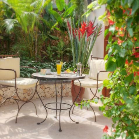 Villa Lataliana II - Breakfast on Veranda - Seminyak, Bali