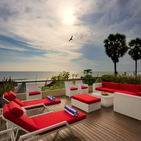 Villa LeGa Bali - Master Bedroom Terrace - Seminyak, Bali