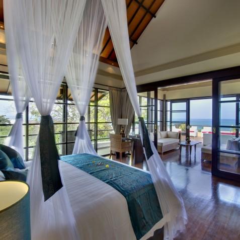 Villa LeGa Bali - Ocean View from Master Bedroom - Seminyak, Bali