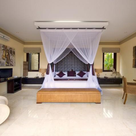 Villa LeGa Bali - Second Bedroom Interior - Seminayk, Bali