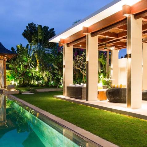 Villa Lilibel Bali - Bale and Outdoor Living Area - Seminyak, Bali