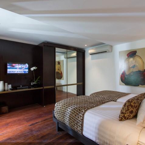 Villa Lilibel Bali - Twin Bedroom - Seminyak, Bali
