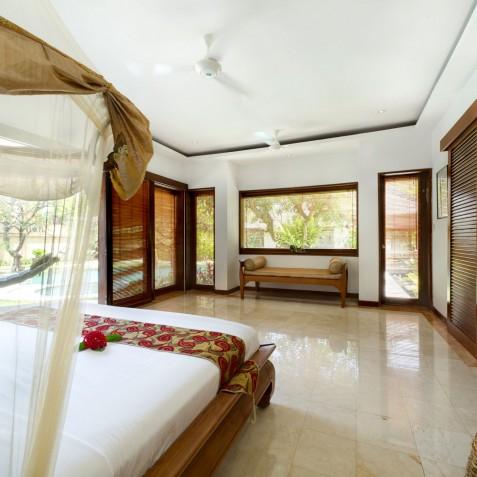 Villa Maharaj - Master Bedroom - Seminyak, Bali