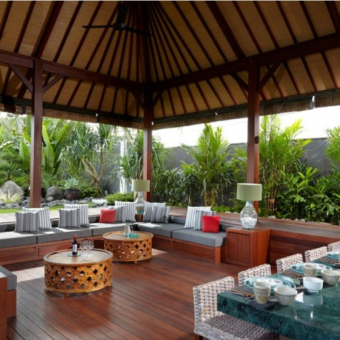 Villa Malaathina Bali - Outdoor Living - Seminyak, Bali