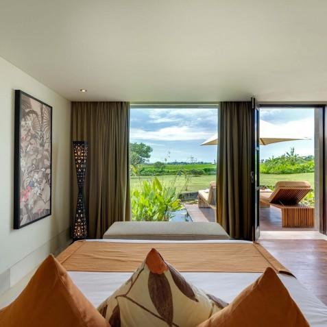 Villa Mandalay Bali - Downstairs Guest Bedroom - Seseh-Tanah Lot
