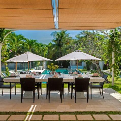 Villa Manis Bali - Alfresco Dining - Canggu, Bali