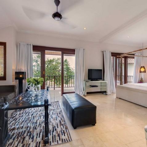 Villa Manis Bali - Guest Pavilion Bedroom One - Canggu, Bali