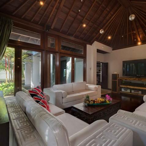 Villa Manis Bali - Guest Pavilion Living Area- Canggu, Bali