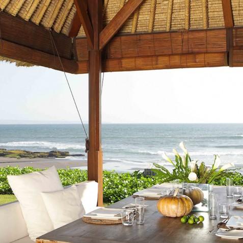 Villa Melissa Bali -Breakfast Bale overlooking Ocean - Pantai Lima, Canggu, Bali