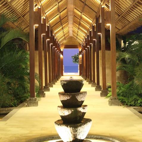 Villa Melissa Bali - Corridor at Night - Pantai Lima, Canggu, Bali