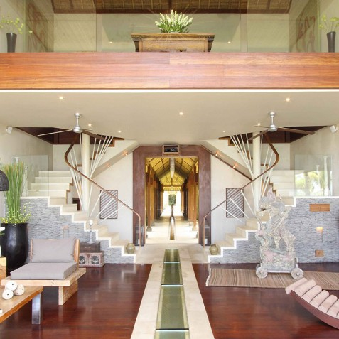 Villa Melissa Bali - Livin Room and Mezzanine - Pantai Lima, Canggu, Bali
