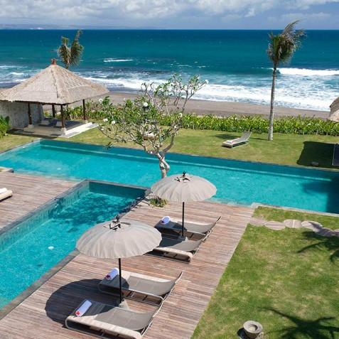 Villa Melissa Bali - View from Upper Guest Suite - Pantai Lima, Canggu, Bali