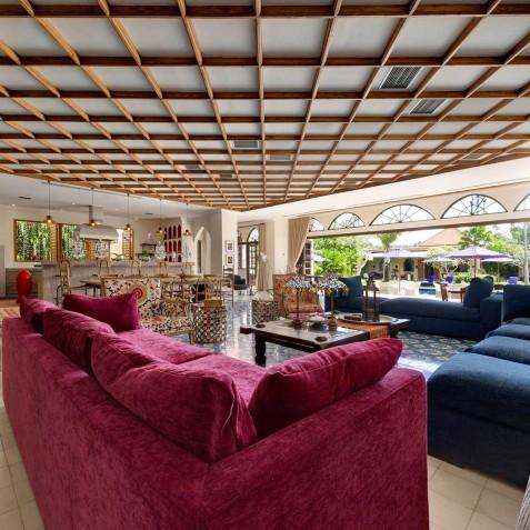 Villa Sayang d'Amour - Indoor Living Area - Seminyak, Bali