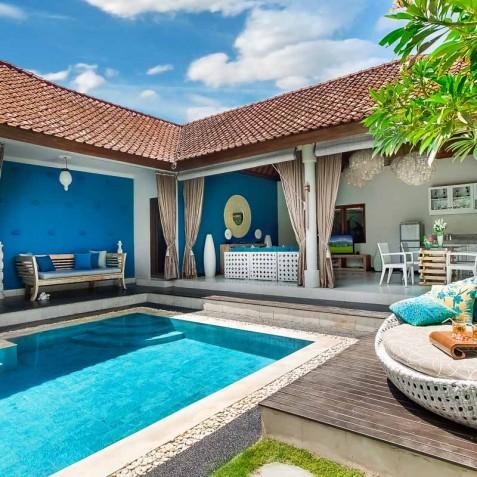Villa Sea - 4S Villas - Pool and Living Areas - Seminyak, Bali