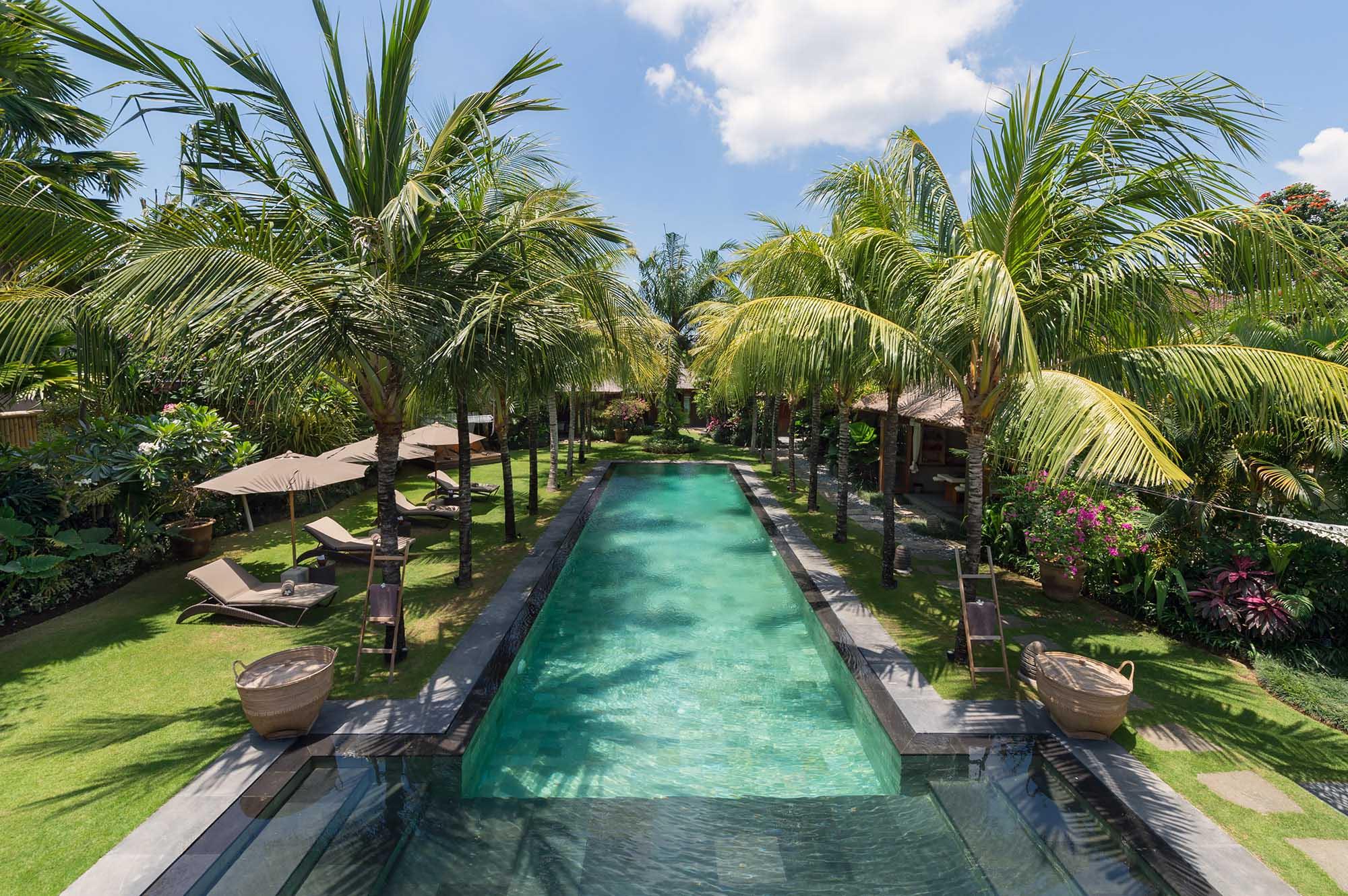 Villa Shambala - Aerial View of Pool - Seminyak, Bali