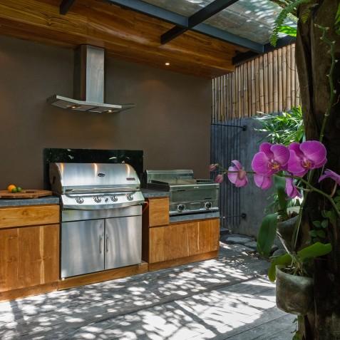 Villa Shambala - BBQ - Seminyak, Bali