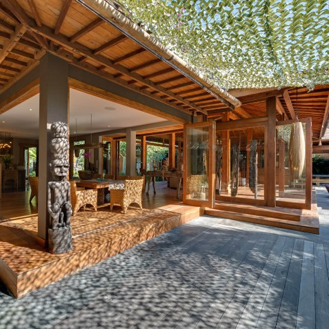 Villa Shambala - Deck - Seminyak, Bali