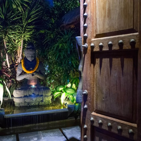 Villa Shambala - Front Door - Seminyak, Bali