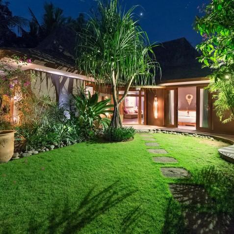 Villa Shambala - Guest Wing Garden - Seminyak, Bali
