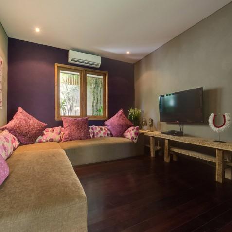 Villa Shambala - Guest Wing Living Room - Seminyak, Bali