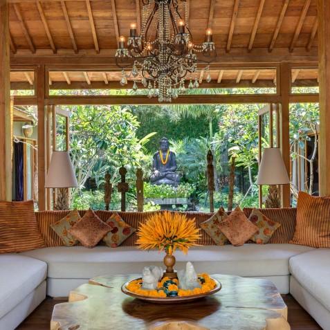Villa Shambala - Lounge Area - Seminyak, Bali