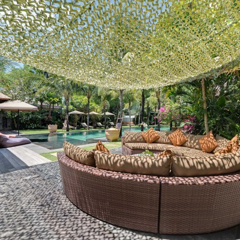 Villa Shambala - Outdoor Living Area - Seminyak, Bali