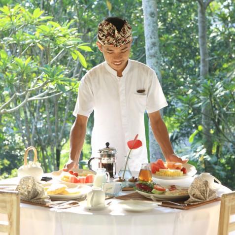 Villa Shamballa Moon, Ubud, Bali - Jungle View Dining