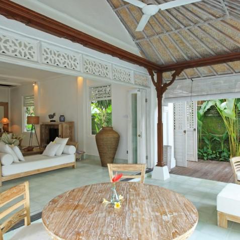 Villa Shamballa Moon, Ubud, Bali - Living Area and Terrace