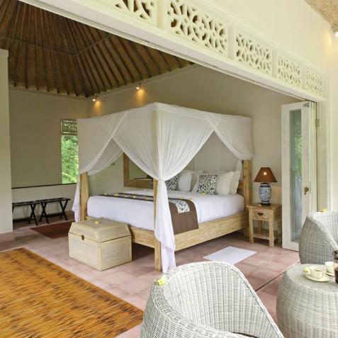 Villa Shamballa Moon, Ubud, Bali - Upstairs Bedroom