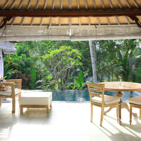 Villa Shamballa Moon, Ubud, Bali - View from Living Area