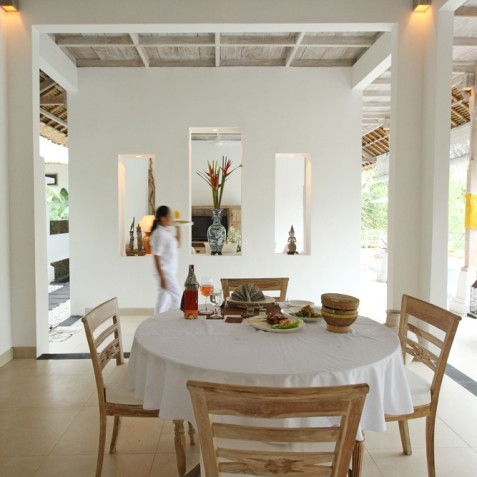 Villa Shamballa Residence, Ubud, Bali - Dining and Living Area