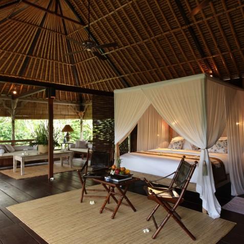 Villa Shamballa Ubud Bali - Bedroom Interior