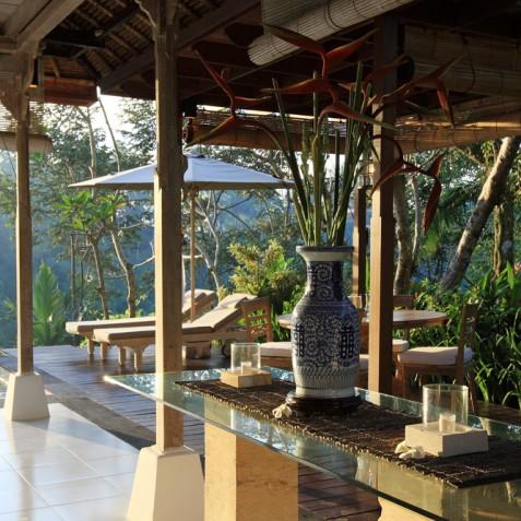 Villa Shamballa Ubud Bali - Sun Deck