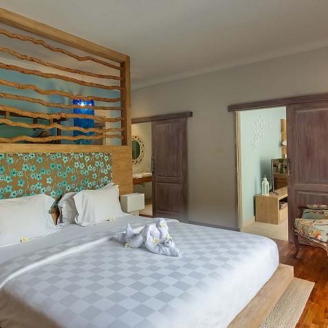Villa Sky - 4S Villas - Bedroom Interior - Seminyak, Bali