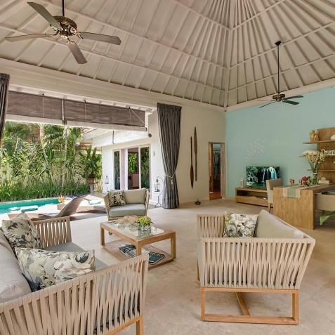 Villa Sky - 4S Villas - Lounge - Seminyak, Bali
