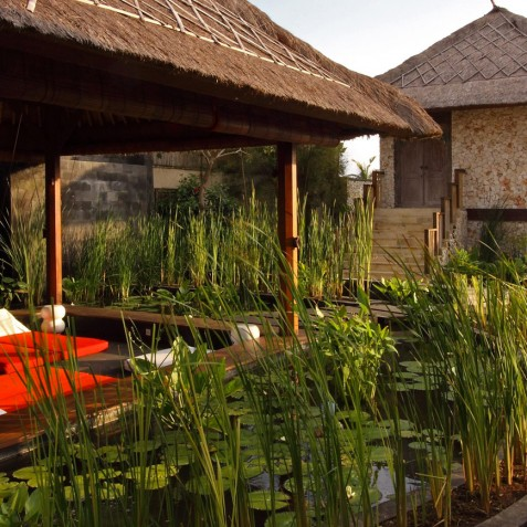Villa Sound of the Sea Bali - Floating Bale - Canggu, Bali