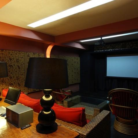 Villa Swarapadi, Ubud, Bali - Home Cinema