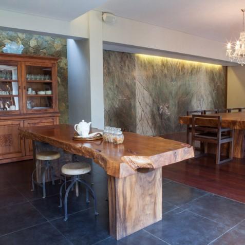 Villa Swarapadi, Ubud, Bali - Kitchen & Dining Area
