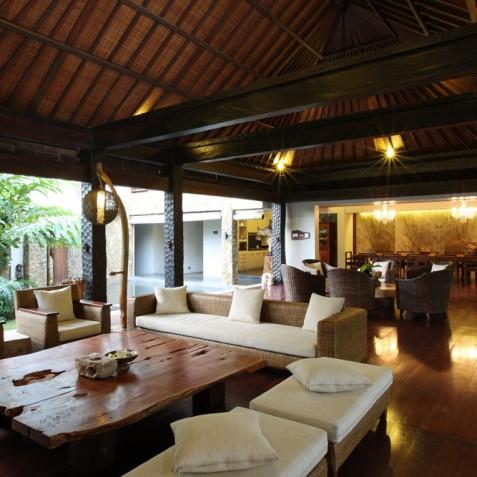 Villa Swarapadi, Ubud, Bali - Open Plan Living