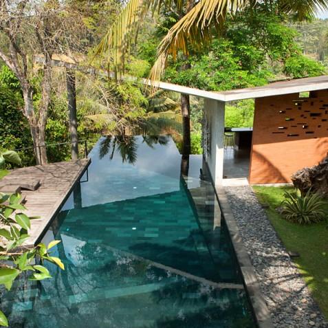 Villa Umah Tampih, Ubud, Bali - Pool and Sun Deck